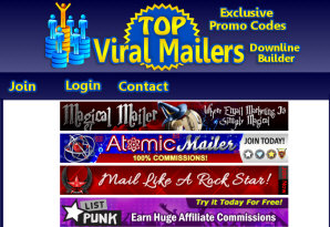 Top Viral Mailers ~ Fast, Free Email Marketing